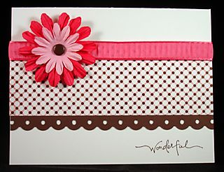 Summery Card Close Up