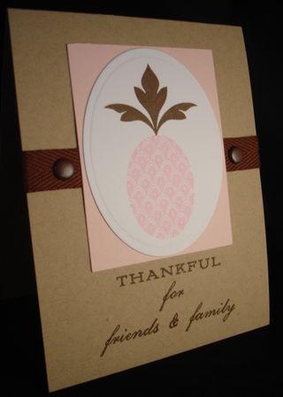 Thankful Pink Pineapple