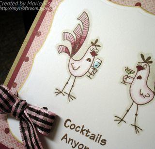 Pink Cocktails Closeup