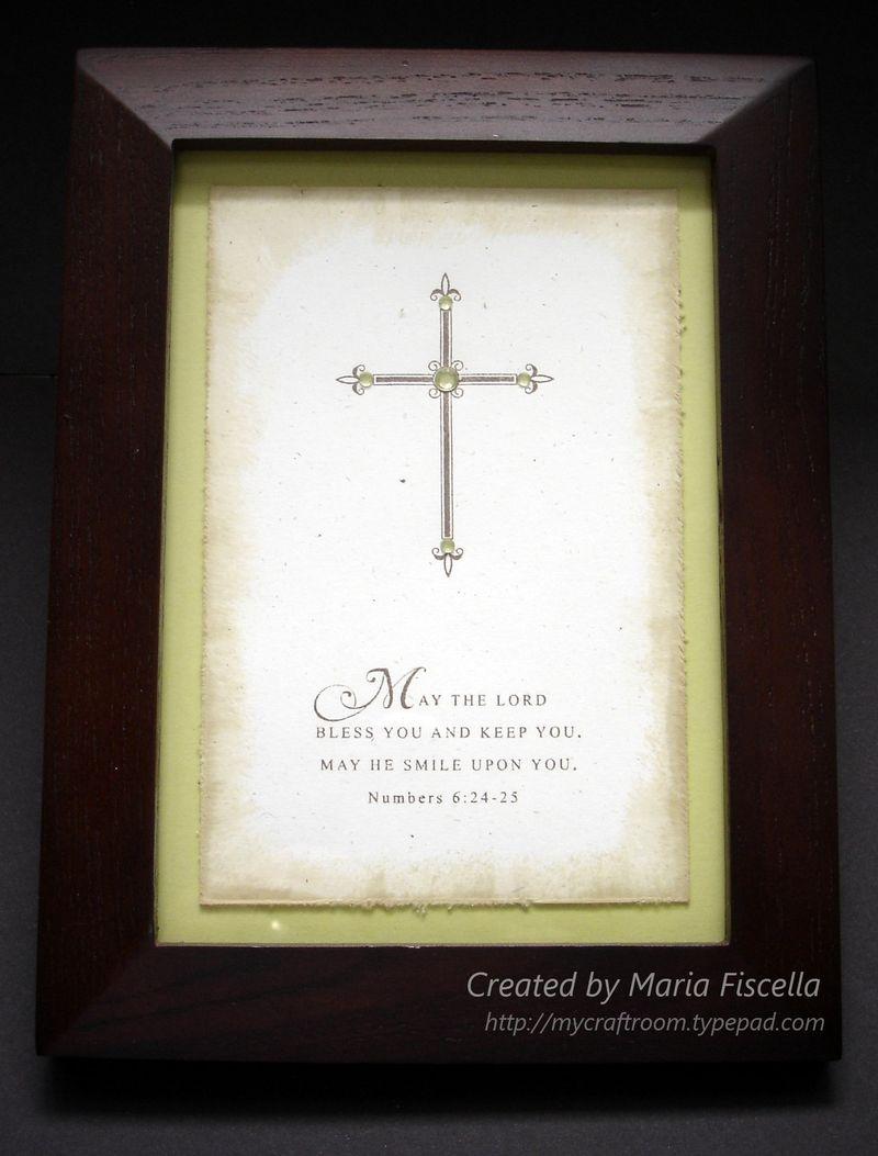 Baptism Framed Gift