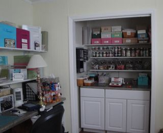 Craft Room Closet Wide