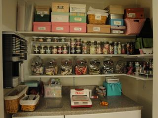 Craft Room Closet closeup