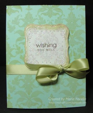 Wishing You Well Damask