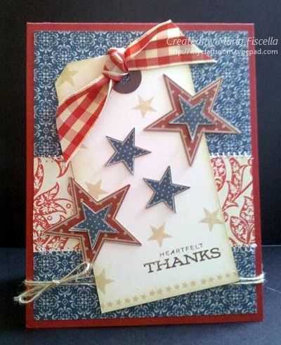 Memorial Day Card closeup 2