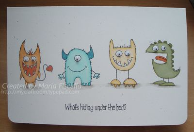 Monster Father's Day Card